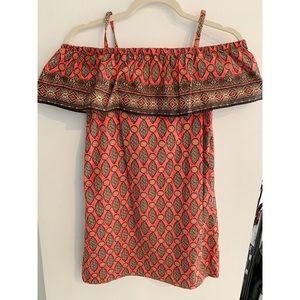 Zara Girls Boho dress/ 11/12